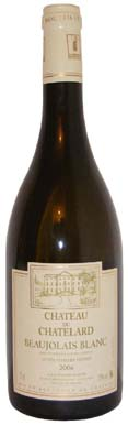 Chateau du Chatelard Beaujolais Blanc  Vin blanc 2013