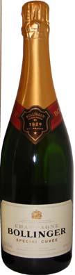 Bollinger Champagne Spéciale Cuvée<br>Vin effervescent  75cl