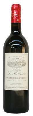 Chateau La Maroquine Bordeaux Superieur  Vin rouge 2009