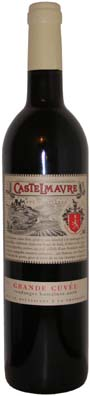 Cave de Castelmaure Corbières Grande Cuvée Vin rouge 2012