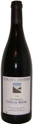 Domaine Jean-Luc Colombo Côtes du rhône Cuvée Les Abeilles Vin rouge 2012