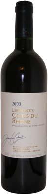 Jean-Luc Colombo Côtes du Rhône Les Forots Vin rouge 2011