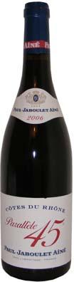 Jaboulet Côtes du Rhône Parrallèle 45<br>Vin rouge 2013 75cl