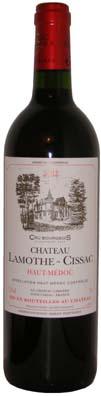 Chateau Lamothe Cissac Haut Médoc <br>Vin rouge 2011 75cl