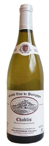 Alain Gautheron Chablis <br>Vin blanc 2012 75cl
