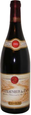 Guigal Chateauneuf du Pape  Vin rouge 2007