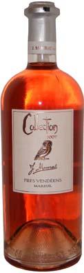 Chateau Marie du Fou VDQS Fief Vendéens Cuvée Collection Vin rosé 2013