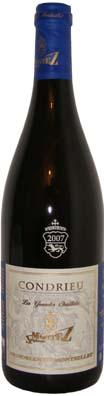 Domaine du Monteillet, Stéphane Montez Condrieu Les Grandes Chaillées<br>Vin blanc 2012 75cl