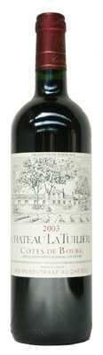 Chateau La Tuilière Bordeaux Côtes de Bourg  Vin rouge 2012