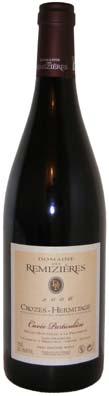 Domaine des Remizières Crozes Hermitage Cuvée Particulière Vin rouge 2012