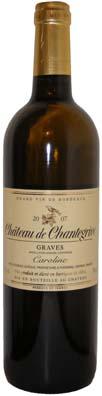 Chateau de Chantegrive Graves Cuvée Caroline Vin blanc 2010