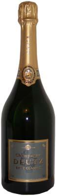 Deutz Champagne Brut Classic<br>Vin effervescent  75cl
