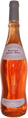 Domaine St Jean Côtes de Provence  Vin rosé 2014