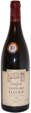 Chateau du Chatelard Fleurie Vieux Granit Vin rouge 2012
