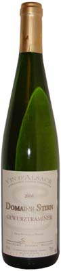 Domaine Stirn Gewurztraminer  Vin blanc 2013