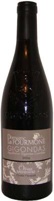 Domaine Lousteau Fauquet Gigondas Cuvée traditionnelle Vin rouge 2012