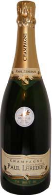 Paul Leredde Champagne Carte Blanche<br>Vin effervescent  75cl