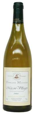 Domaine Mathias Macon Villages  Vin blanc 2012