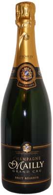 Mailly Grand Cru Champagne Brut Réserve<br>Vin effervescent  75cl