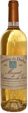Domaine de Durban Muscat Beaumes de Venise <br>Vin liquoreux 2011 75cl