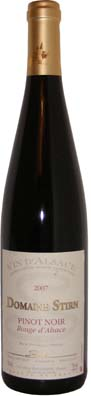 Domaine Fabien Stirn Alsace Pinot Noir  Vin rouge 2011