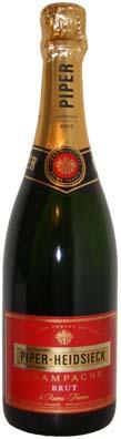 Piper Heidsieck Champagne Brut<br>Vin effervescent  75cl