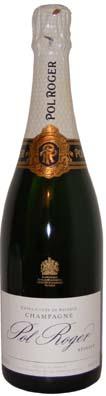 Pol Roger Champagne Brut Réserve<br>Vin effervescent  75cl