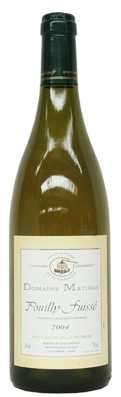 Domaine Mathias Pouilly Fuissé  Vin blanc 2011