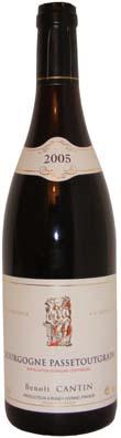 Benoit Cantin Bourgogne Passe-tout-grain  Vin rouge 2011