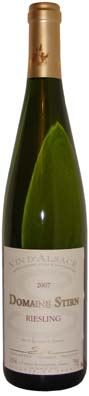 Domaine Fabien Stirn Alsace Riesling  Vin blanc 2012