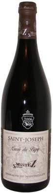 Domaine du Monteillet, Stéphane Montez Saint Joseph Cuvée du Papy Vin rouge 2012