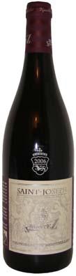 Domaine du Monteillet, Stéphane Montez Saint Joseph  Vin rouge 2013