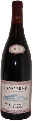 Jean et Michel Naudet Sancerre  Vin rouge 2012