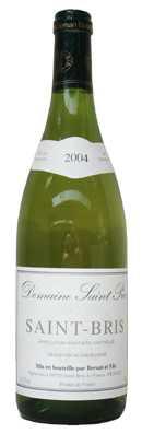 Domaine Bersan Sauvignon de Saint Bris  Vin blanc 2010