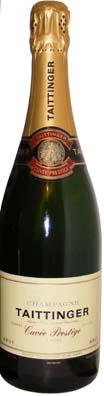 Taittinger Champagne Brut Prestige<br>Vin effervescent  75cl